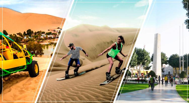 lugares turisticos de Tours Ica Paracas